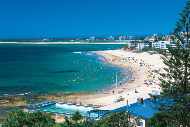 Kings Beach, Caloundra, Sunshine Coast - Hightide Holidays