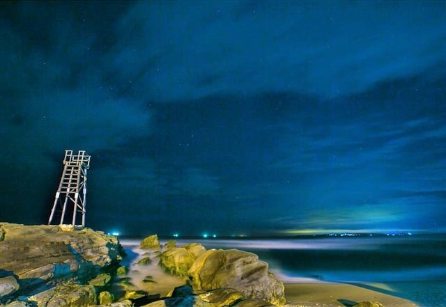 Aurora Australis over Redhead Beach Newcastle New South Wales - Courtesy of @gav_smith01 | Hightide Holidays