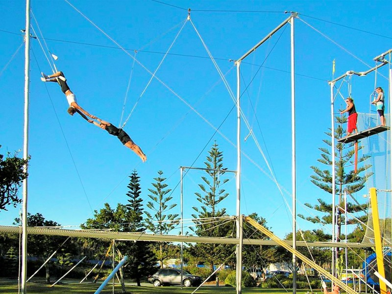 Flying Trapeze at Novotel Twin Waters, Sunshine Coast Things To Do - Discover Queensland