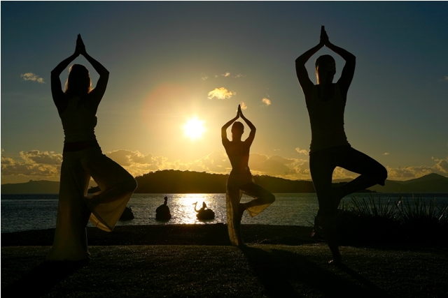 Daydream Island Yoga on the Beach - Discover Queensland