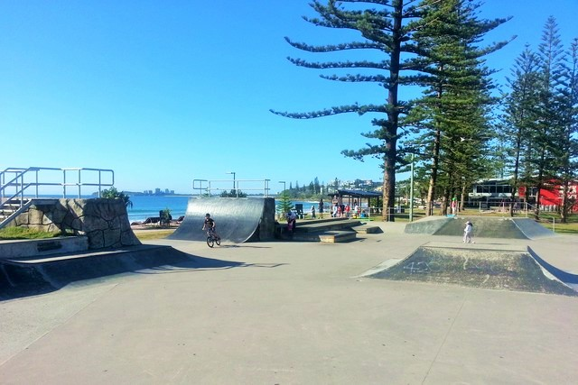 Alexandra Headland Skate Park just outside Oaks Seaforth | Discover Queensland