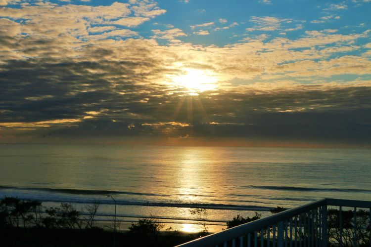 View from the Oaks Seaforth Resort Room  | Sunshine Coast Sunset | Discover Queensland