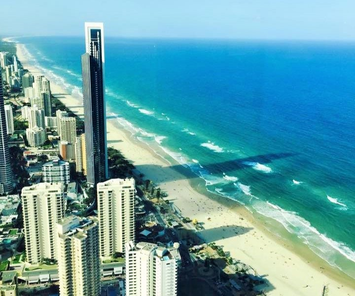 Surfers Paradise Coastline - Hightide Holidays