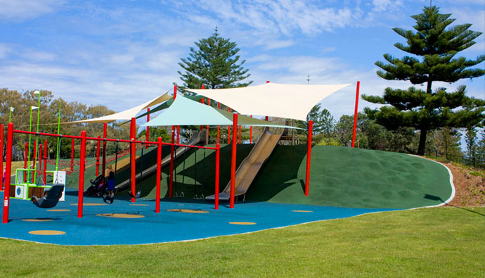 Pratten Park - All Abilities Childrens Playground on the Gold Coast - Discover Queensland