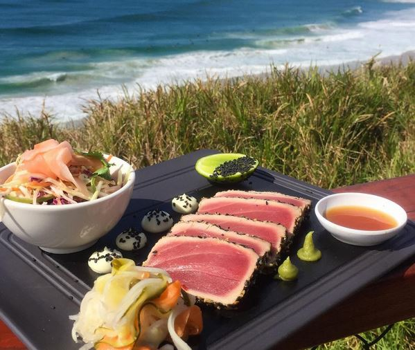 Lunch with a view from Cafe Dbar - Discover Queensland