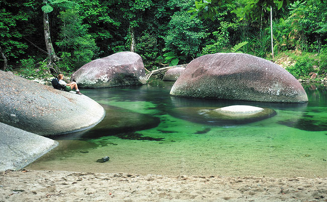 Mossman Gorge in the Daintree Rainforest, Tropical North Queensland - Hightide Holidays