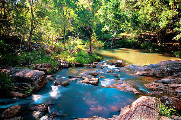 Mothar Mountain Rock Pools - Discover Queensland