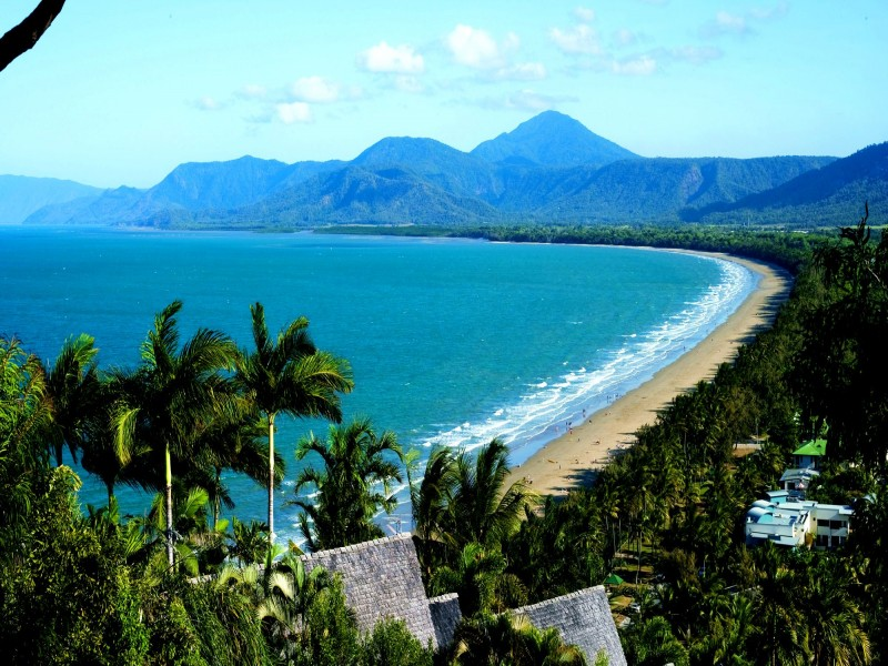 Four Mile Beach from the Port Douglas Lookout - Discover Queensland