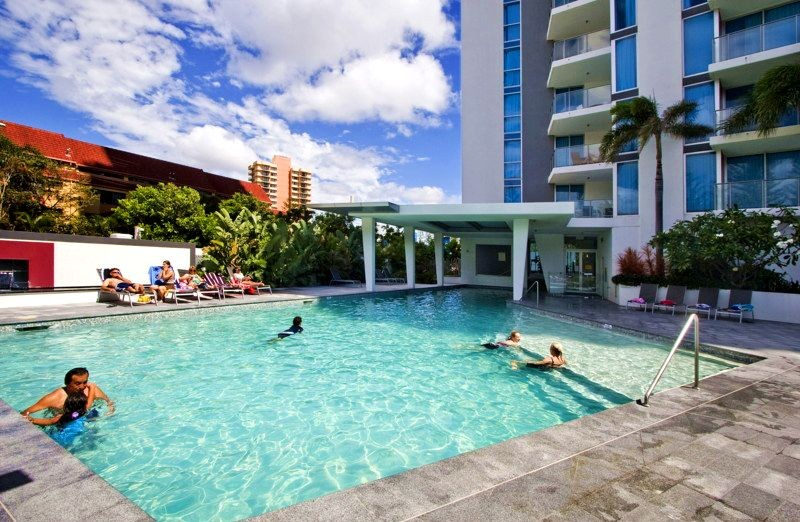 Artique Resort Surfers Paradise Lagoon Pool Area - Discover Queensland
