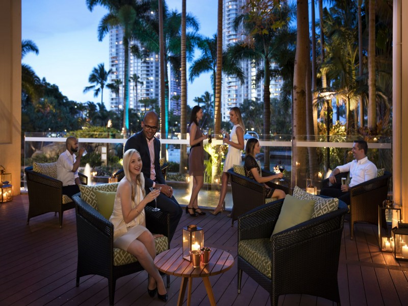 Chapter & Verse Lounge Bar at Marriott Vacation Club at Surfers Paradise | Discover Queensland