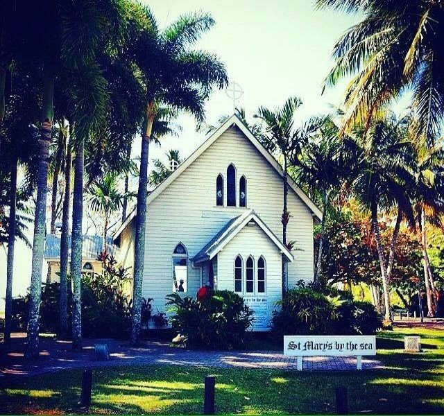 St Mary's By The Sea in Port Douglas is the town's famous little church! | Discover Queensland