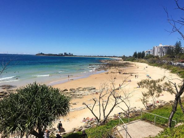 Mooloolaba Beach by @jessblakey_ via Instagram #DiscoverQueensland