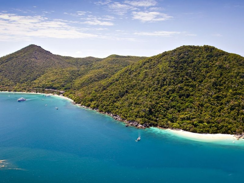 Fitzroy Island and Fitzroy Island Resort from an Aerial Perspective | Discover Queensland