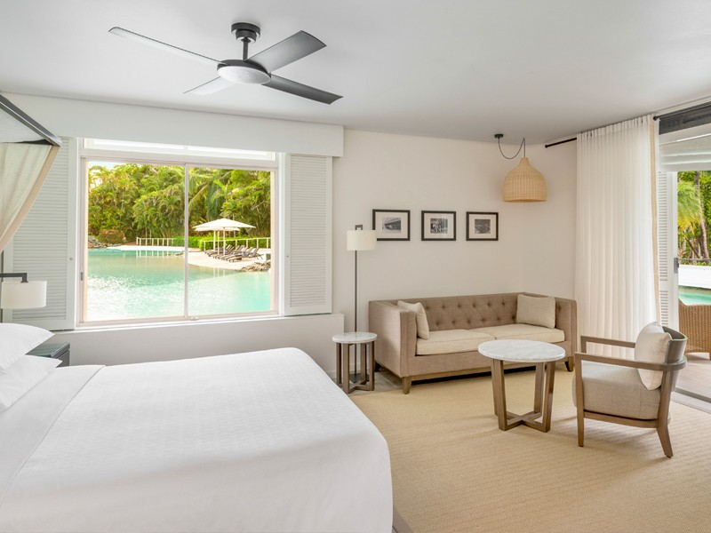 Lagoon Edge Studio Suite at Sheraton Grand Mirage Port Douglas - Discover Queensland