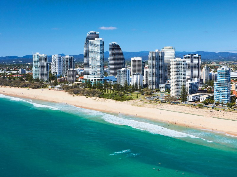 Broadbeach Beach Aerial | Discover Queensland