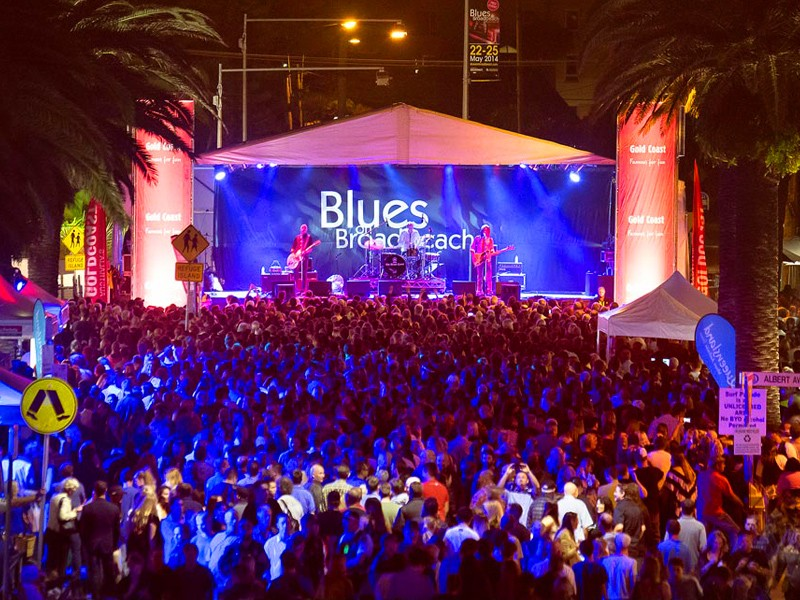 Blues on Broadbeach Music Festival - Discover Queensland