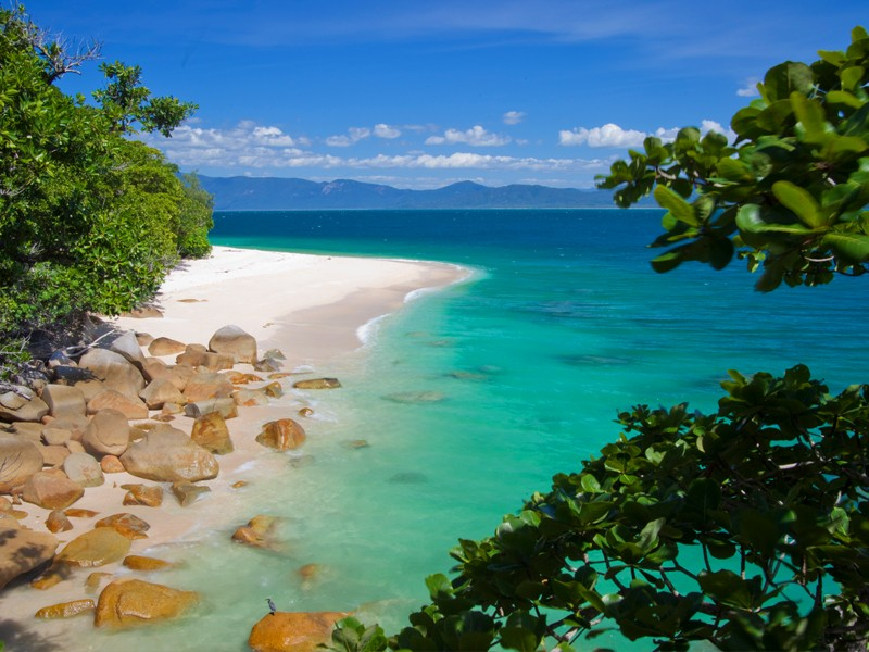 Nudey Beach, Fitzroy Island, Tropical North Queensland | Top 10 Queensland Beaches | Discover Queensland