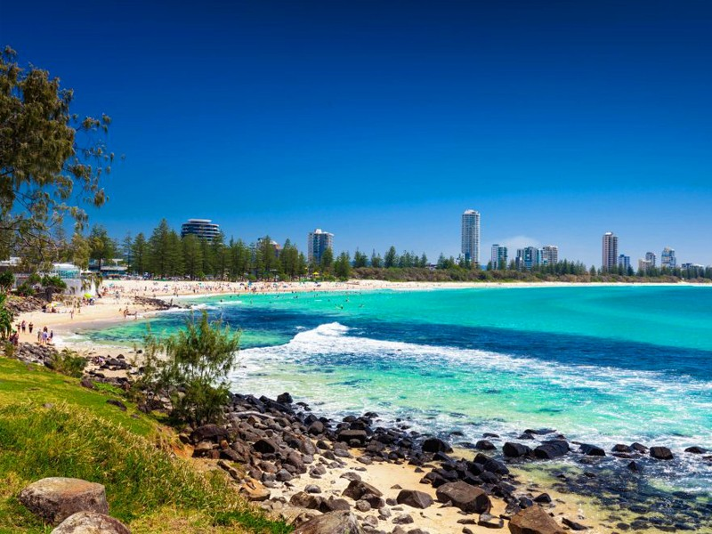 Burleigh Heads Beach, Gold Coast | Top 10 Queensland Beaches | Discover Queensland