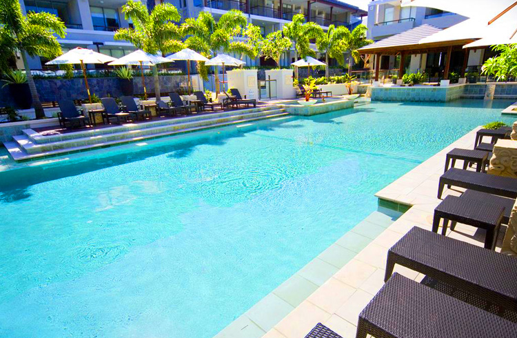 Relaxing Poolside at Santai Retreat Casuarina - Your Guide to Kingscliff, Casuarina & Cabarita Beach - Discover New South Wales