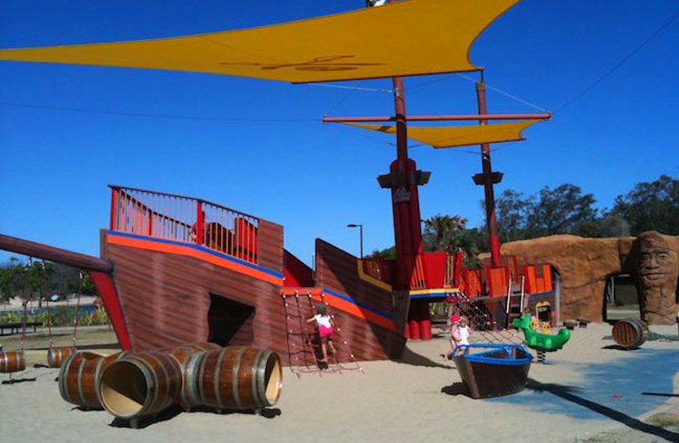 Head Off to the Park - One of our favourites is Pirate Park | Top 5 Things To Do on the Gold Coast with Kids | Discover Queensland