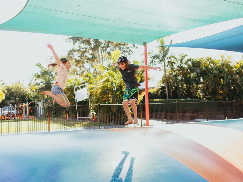 5 Reasons You Should Take Your Family to Treasure Island Holiday Resort | Giant Jumping Pillow | Discover Queensland