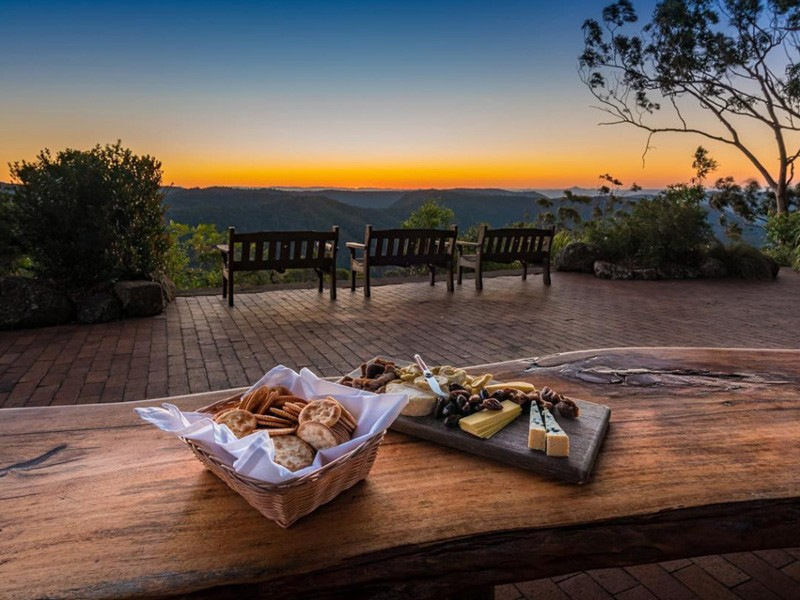 @bradmoorephotography Who would like to be enjoying a cheese platter at sunset on our Coomera terrace! | Photos That Will Make You Want To Visit Binna Burra Lodge | Discover Queensland