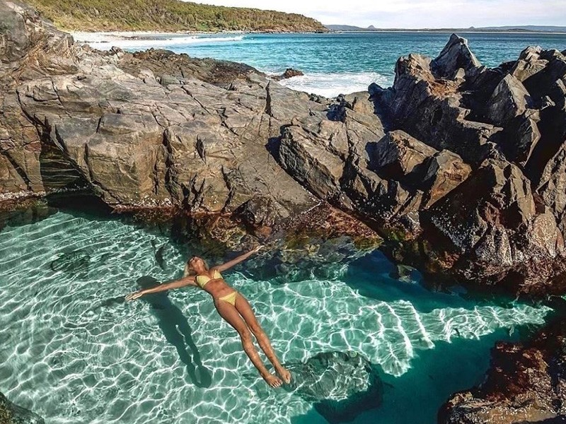 5 Amazing Queensland Destinations You Didn't Know About - Fairy Pools at Noosa Heads by @EliseCook