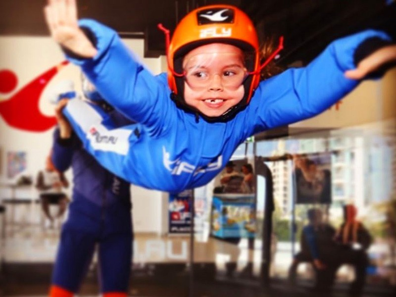 Things to do on a Rainy Gold Coast Family Holiday - iFly Indoor Skydiving at Surfers Paradise by @justinweight.