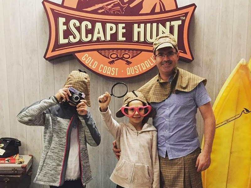 Things to do on a Rainy Gold Coast Family Holiday - The Escape Hunt Gold Coast by @lovin0life