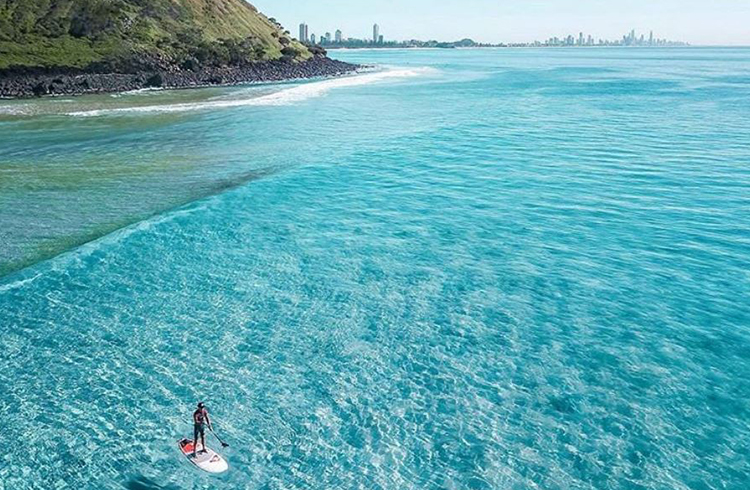 10 Photos That Will Make You Want to Visit Burleigh Heads | Discover Queensland | Tallebudgera Creek side of Burleigh Hill by @ty_sheers_photography