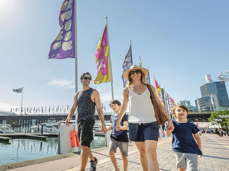 Kid-friendly activities in Darling Harbour - Discover New South Wales - Image by @darlingharbour