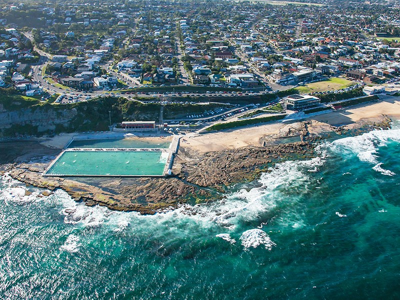 Best Beach Destinations in NSW - Discover New South Wales - Ocean Pools Newcastle - Image by Destination New South Wales