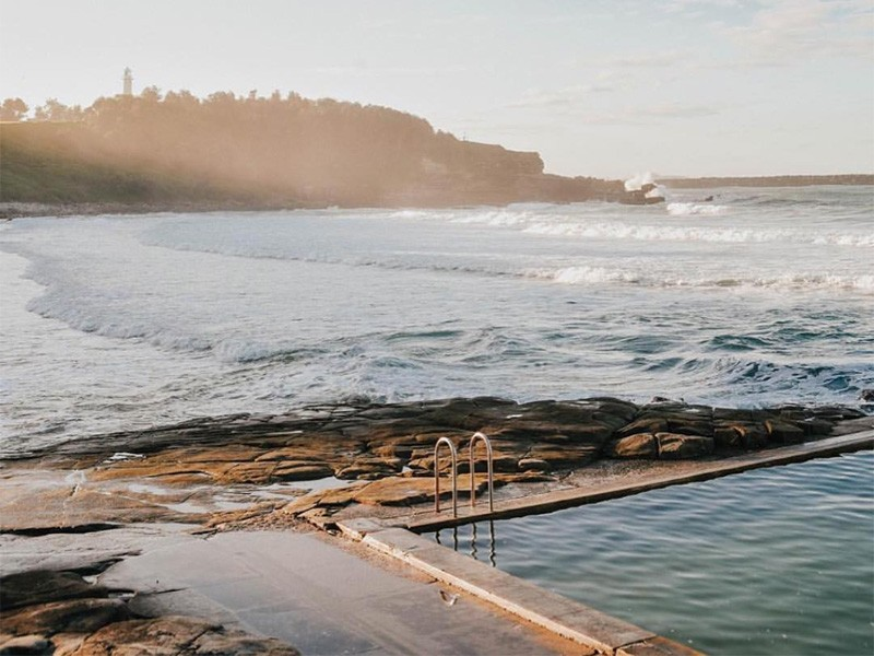 Best Beach Destinations in NSW - Discover New South Wales - Ocean Pools Yamba - Image by @bentyers