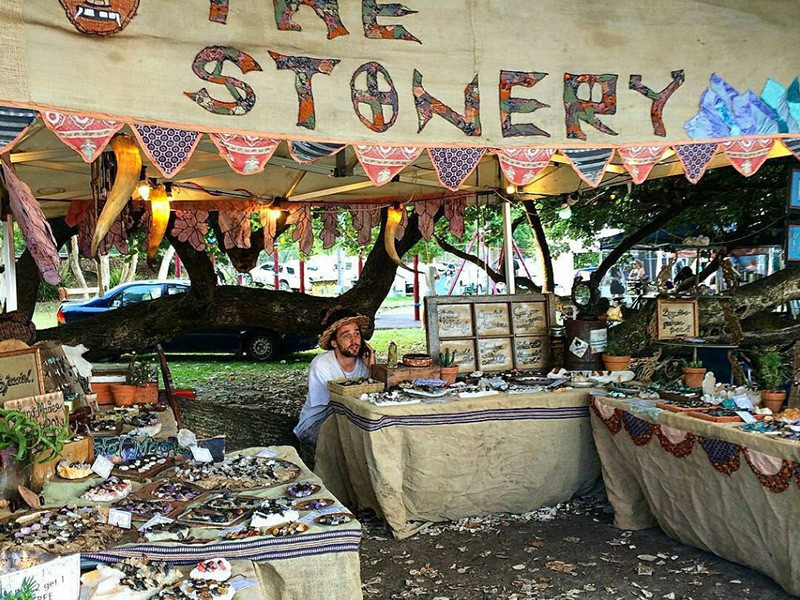 Byron Bay Artisan Markets - Instagram @thestonery