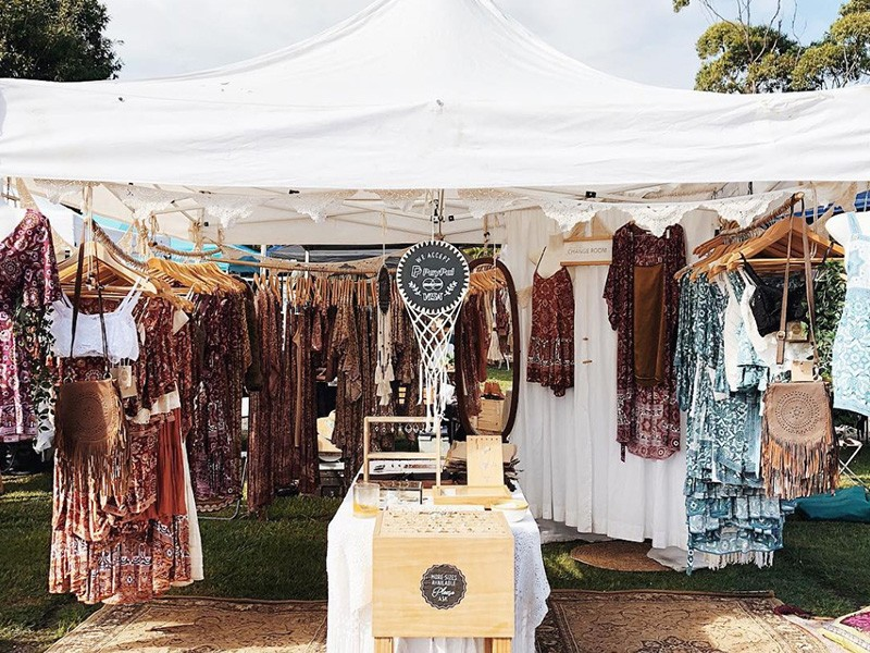 Byron Bay Community Market - Instagram @shoppasteldesigns