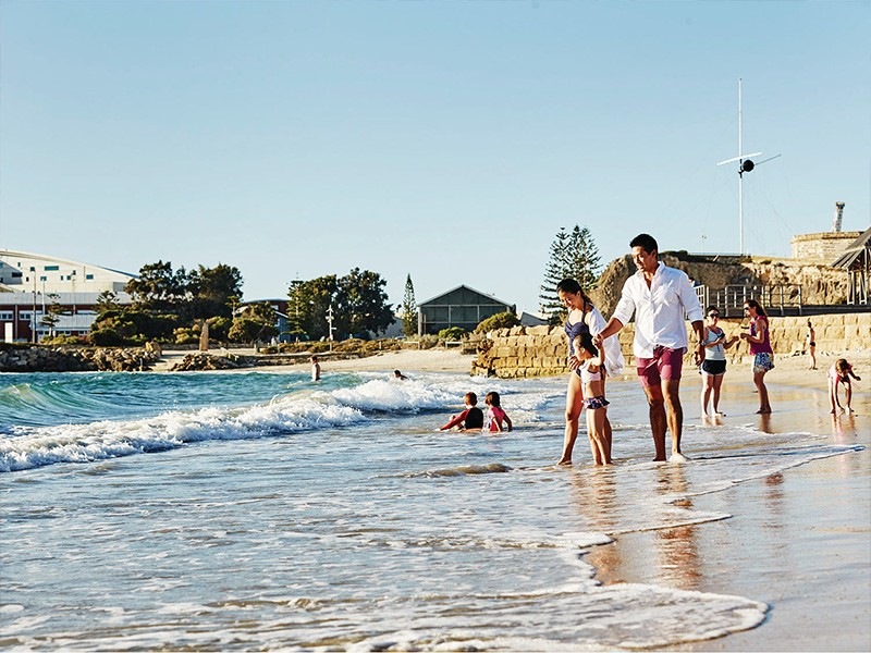 Bathers Beach Fremantle | Image via Tourism WA | Why Fremantle is a must-visit while you're in Western Australia | Discover Western Australia