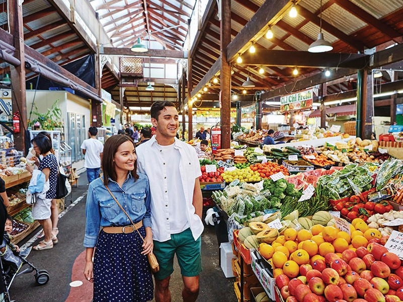 Fremantle Markets | Image via Tourism WA | Why Fremantle is a must-visit while you're in Western Australia | Discover Western Australia