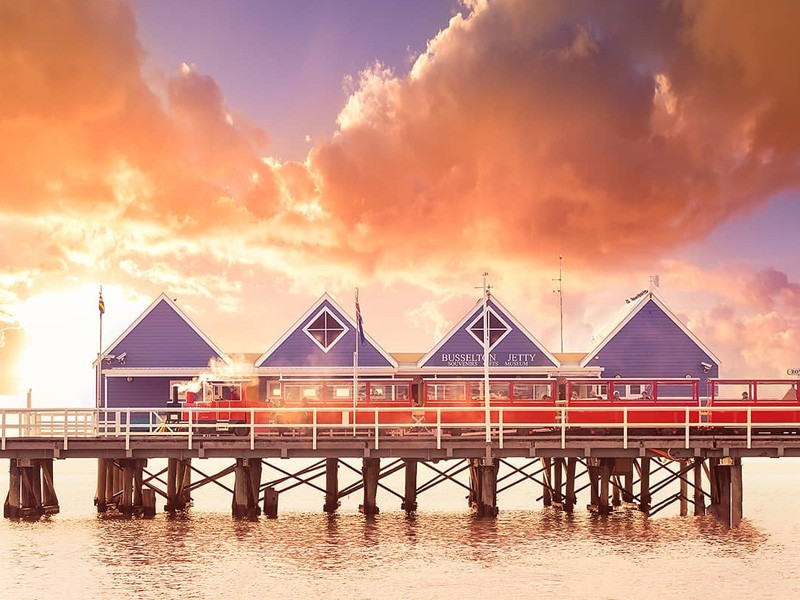 Busselton Jetty | Image via Tourism Western Australia | Where to Get Back to Nature in the Margaret River | Discover Western Australia