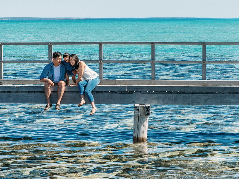 Stromatolites at Hamelin Pool | Image via Tourism Western Australia | How to spend a week in Money Mia | Discover Western Australia