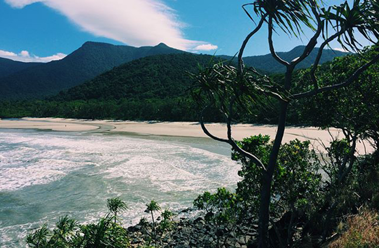 Myall Beach by @klaraquinton via Instagram | A Day in the Daintree | Discover Queensland