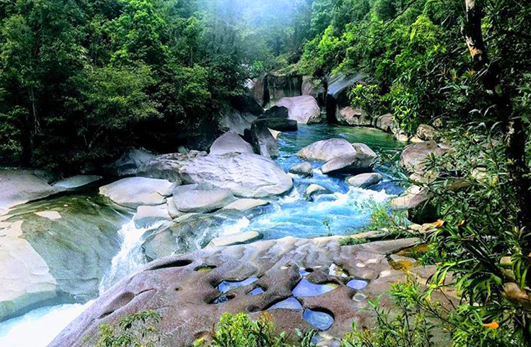 Babinda Boulders by @francesca_crouch via Instagram | A Day in the Daintree | Discover Queensland
