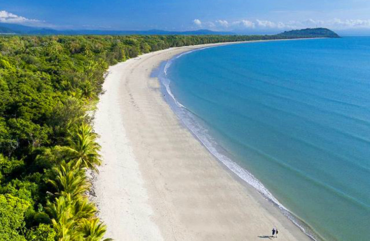Four Mile Beach by @portdouglas via Instagram | A Tropical Haven to Escape the Everyday | Discover Queensland