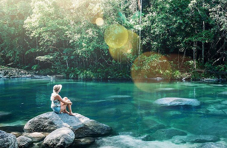 Mossman Gorge by @photography_byron_bay via Instagram | A Tropical Haven to Escape the Everyday | Discover Queensland