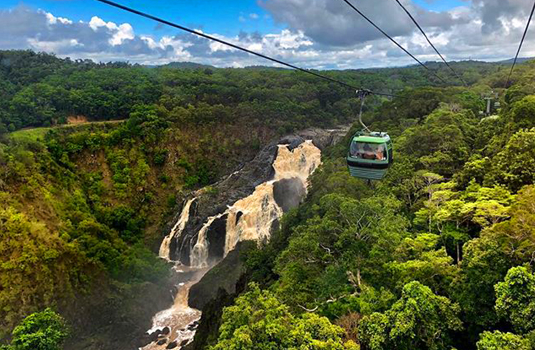 Kuranda Skyrail | Image by @_sarahlatham | A Tropical Haven to Escape the Everyday | Discover Queensland
