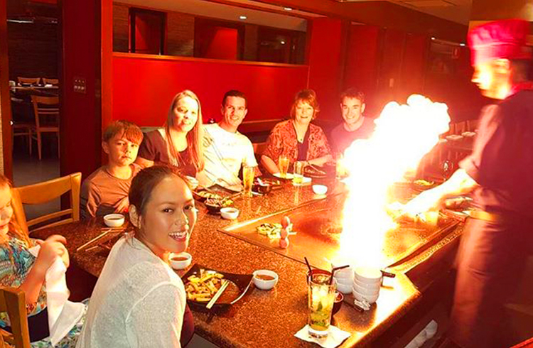 Misono Japanese Steakhouse by @applellacuna | Our 5 Favourite Family Restaurants in Surfers Paradise | Discover Queensland