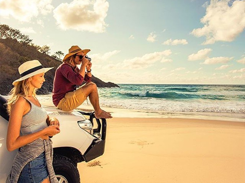 4WD | Top 30 Things to do at Tangalooma Island Resort on Moreton Island | Discover Queensland