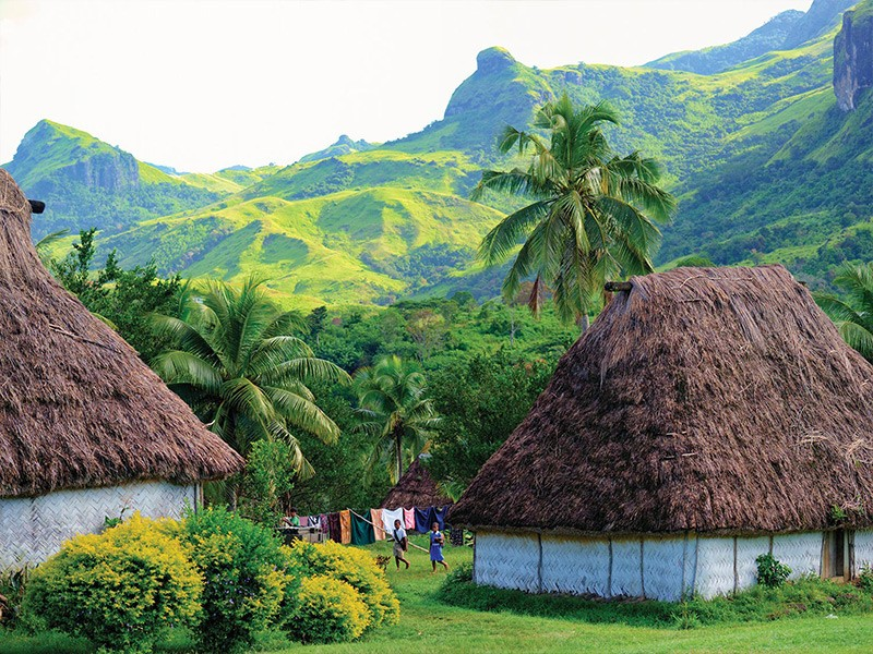 Fijian Village | Image via Tourism Fiji | 5 Reason Why Fiji Is Our Favourite Family Destination | Global Explorer