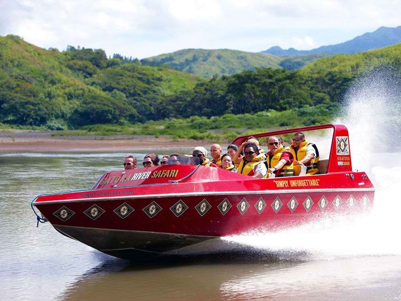 Jet Boat Ride | Image via sigatokariver.com | The Best Outdoor Activities for Kids in Fiji | Global Explorer