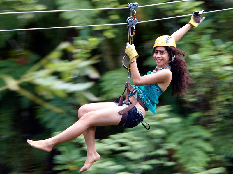 Zip-line | Image via www.zipfiji.com | The Best Outdoor Activities for Kids in Fiji | Global Explorer