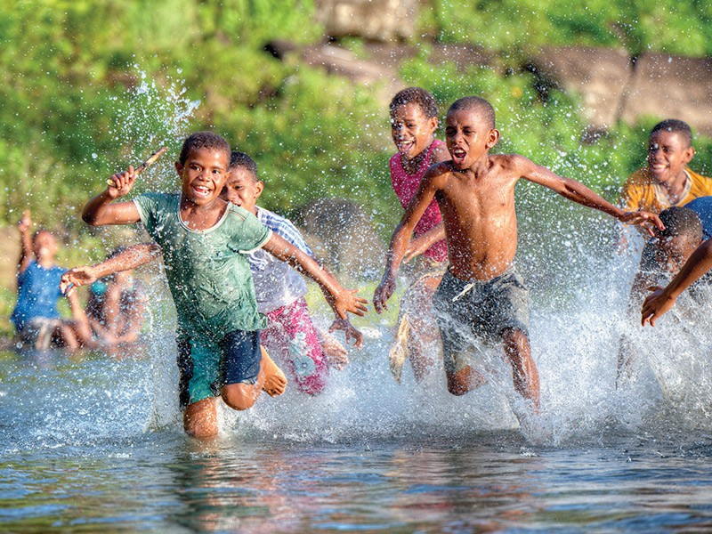 Fijian Children | Image via Tourism Fiji | 5 Reasons Why Fiji Is Our Favourite Family Destination | Global Explorer